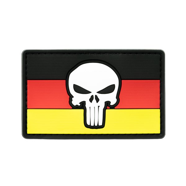 German Punisher Patch